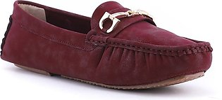 Maroon Color Winter Moccasin WN4129
