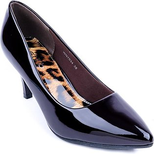 Coffee Color Formal Court Shoes WN7034