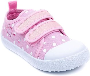 Pink Color Stylo Baby Booties KD7009