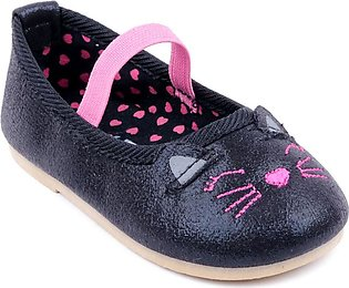 Black Color Stylo Baby Booties KD7011