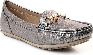 Grey Color Winter Moccasin WN4081