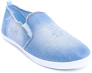 Blue Color Close Casual Sneakers WN6029