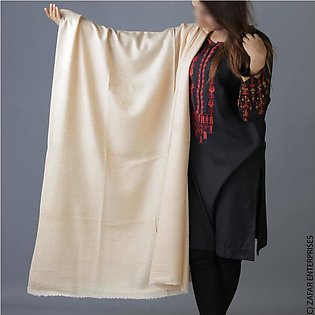 Khaki Sharing Pure woolen Shawl or Stole for Her SHL-288-5
