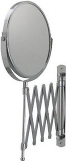 IKEA Magnifying Wall Mirror - Steel