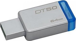 Kingston 64GB,USB 3.0 DataTraveler 50(METAL/BLUE) DT50/64GBFR