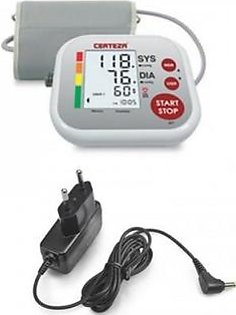 Certeza Upper Arm Type Digital Blood Pressure Monitor With Adapter (BM 405AD)