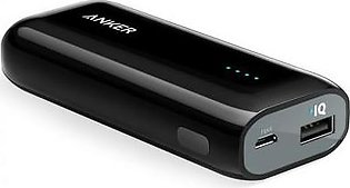 Anker Power Bank 5200 MAH Black A1211H12