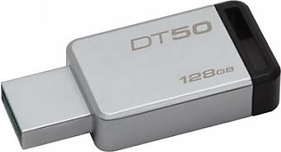 Kingston 128GB,USB 3.0 DataTraveler 50(METAL/BLACK) DT50/128GBFR