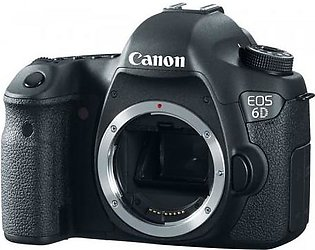 Canon - EOS 6D DSLR Camera (Body Only)