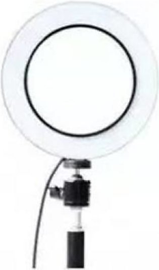 Ring light 16 cm dimmable metal frame with bright led