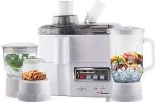 GABA NATIONAL JUICER BLENDER 18 4IN1 WHITE GN-1778