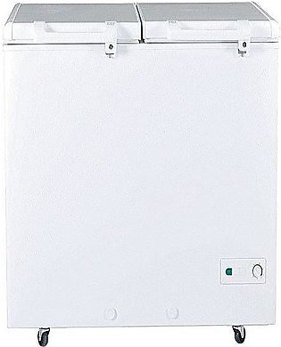 Haier Hdf-385I – Double Door Inverter Deep Freezer