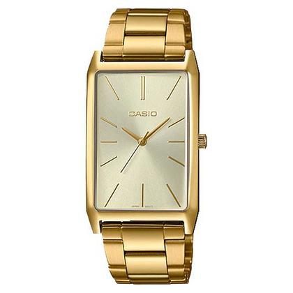 Casio Women's Watches LTP-E156G-9ADF Gold Plated Metal Strap