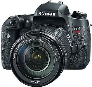 Canon EOS Rebel T6S/760D DSLR Camera With 18-135mm Lens