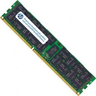 HP 4GB (1x4GB) Single Rank x4 PC3-10600 (DDR3-1333) Registered RAM (593911-B21)