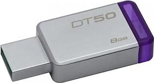 Kingston 8GB,USB3.0 DataTraveler 50(METAL/PURPLE) DT50/8GBFR