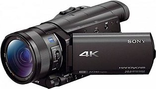 Sony 4K Camcorder | Portable Video Camera | FDR-AX100E