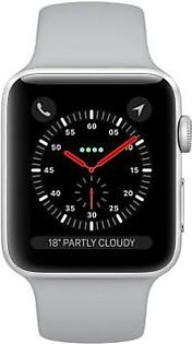 Apple iWatch Series 3 (MQL02) 42mm Silver Aluminium Case With Fog Sport Band GPS