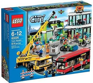 Lego Town Square SKU: 60026