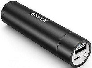 Anker PowerCore Mini 3350mAh Portable Charger (Black) A1104H11