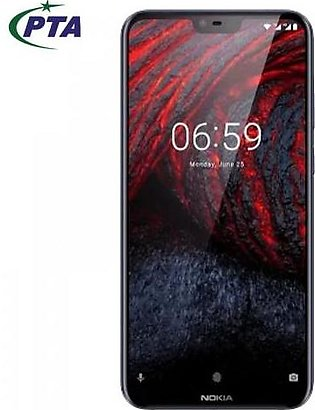Nokia 6.1 Plus 4GB, 64GB with official warranty (PTA Approved)