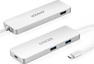 Anker USB-C Hub with HDMI and Power Delivery - Black A8342H41