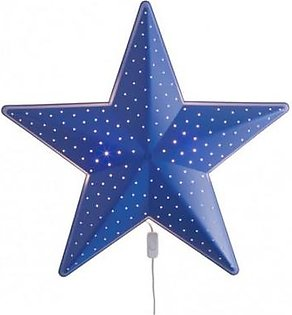 IKEA Star Shaped Light - Blue
