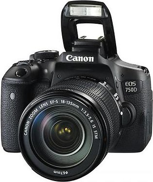 CANON 750D DSLR Camera With 18-55m Lens