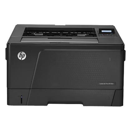 LASERJET ENT 700 M706N PRINTER A3 - Up to 35ppm - Duty Cycle Monthly: 65000 Pages B6S02A