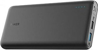 Anker Power Bank 20000 MAH Black QC A1278H11