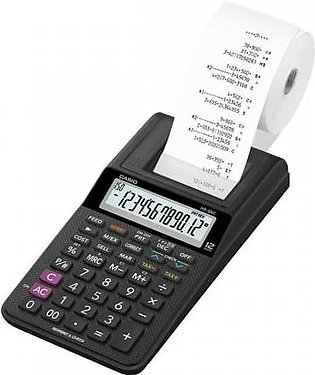 Casio Printing Calculator Black (HR-8RC-BK)