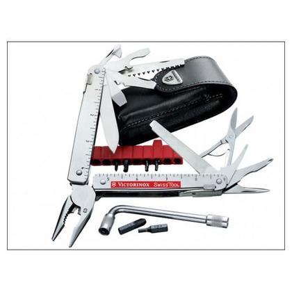 Victorinox SwissTool Plus I 3.0338.L Swiss army knife No. of functions 39 Stainless steel 7611160302007
