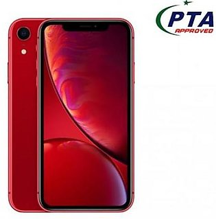 IPhone Xr 64 GB Red Official Warranty