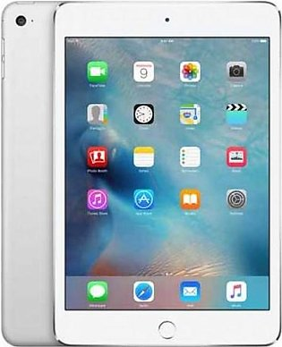 "Apple iPad Mini 4 - 64GB 2GB 8MP Camera (7.9"") Retina display Wi-Fi + 4G Silver"