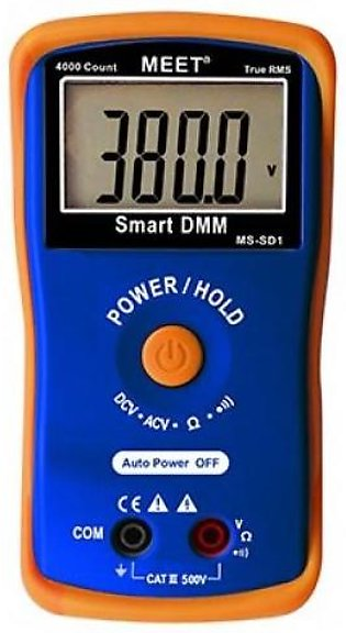 Smart TRMS 4000 Count Digital Multimeter, Fully Auto Range and Single Button ...