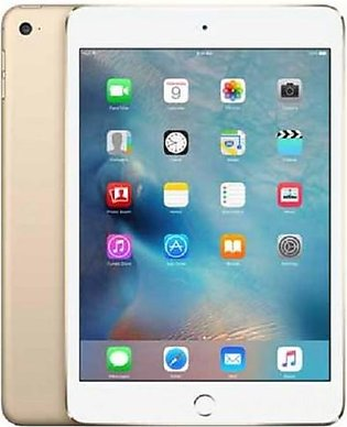 "Apple iPad Mini 4 - 16GB 2GB 8MP Camera (7.9"") Retina display Wi-Fi + 4G Gold"
