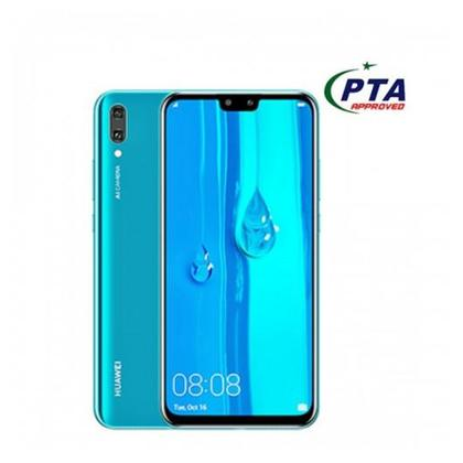 Huawei Y9 2019 64GB 4GB Dual Sim Midnight official warranty (PTA Approved)