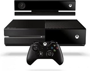Microsoft Xbox One With Kinect - NTSC - 500 GB - Black