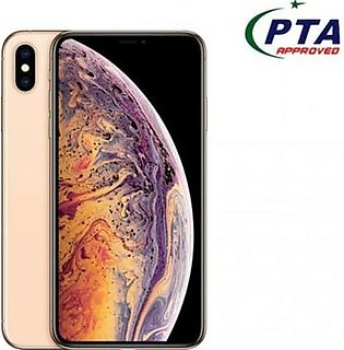 Apple iPhone XS Max 256GB Single Sim Gold (PTA Approved)