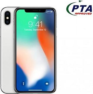 IPhone X 256 GB Silver Official Warranty