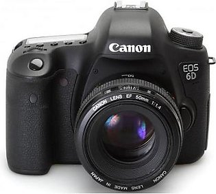 Canon EOS 6D DSLR Camera with 24-105mm