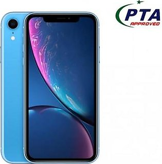 IPhone Xr 64 GB Blue Official Warranty