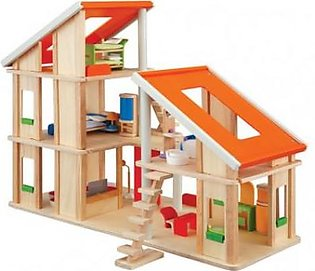 Plantoys Chalet Dollhouse with Furniture PT7602