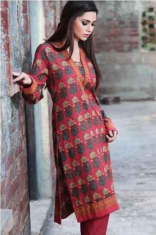 J14586A (RED) By Khaadi