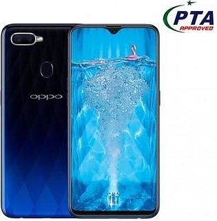 Oppo F9 64GB 4GB Ram Dual Sim Slightly Used PTA Approved