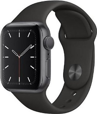 Apple iWatch Series 5 44mm - Aluminum Case with Sports Band GPS+Cell