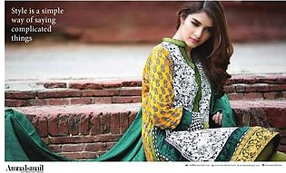 Amna Ismail Winter Linen Session S-6-2 (AI-205)