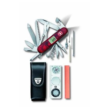 Victorinox Expedition-Kit rood transparant 7611160001283
