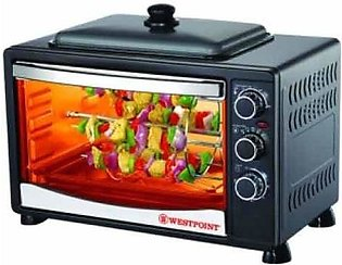 Westpoint Rotesserie Oven Toaster with Hot Plate 42Ltr (WF-3800RKD)