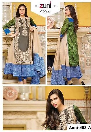 Amna Ismail Zuni New Winter Collection 2015-16 303-A